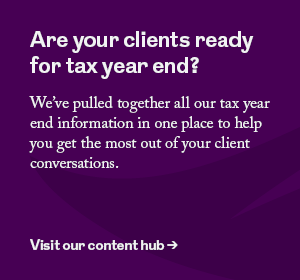 Are your clients ready for tax year end? Visit our content hub