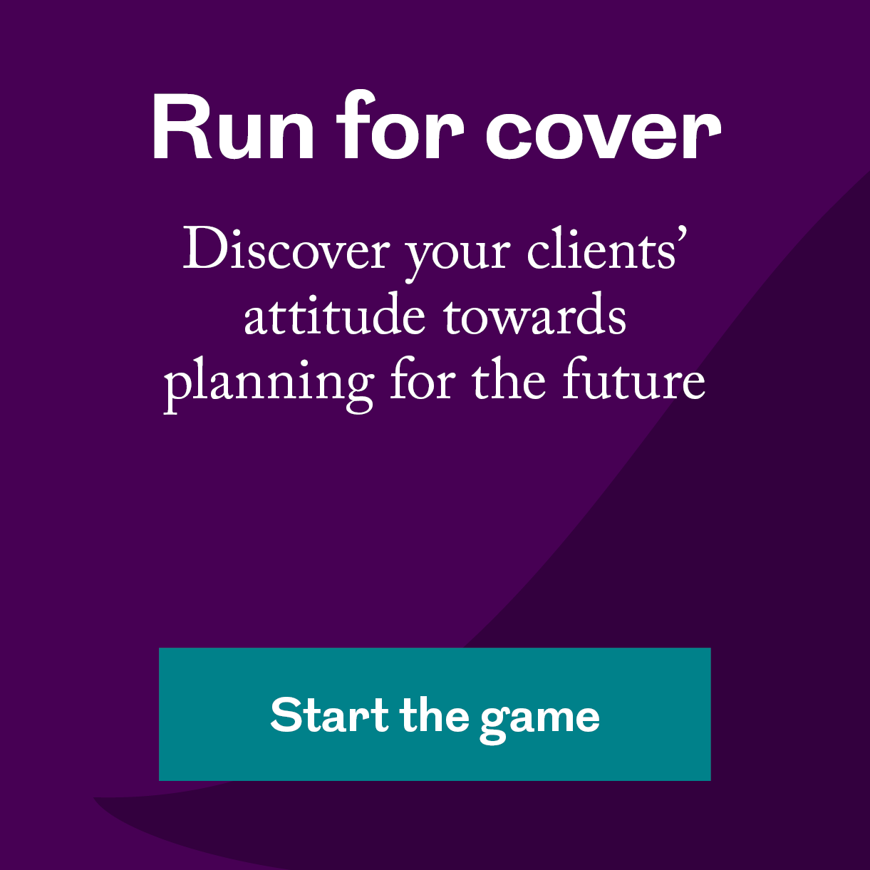 Play our Run for cover quiz