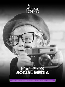 Cover of social media guide. click to download the guide